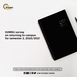 Result on IIUMSU Survey on returning to campus for semester 2, 2020/2021